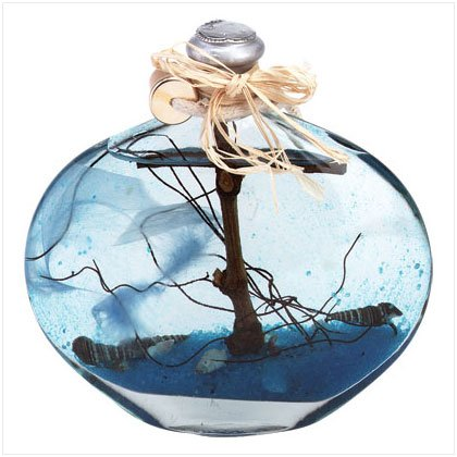 34608 Ocean Theme Oil Lamp
