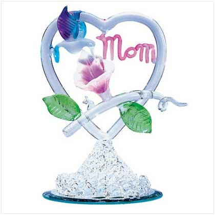 30254 Spun Glass Hummingbird Mom