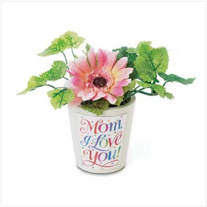 36635 Mom I Love You Mini Flower Pot