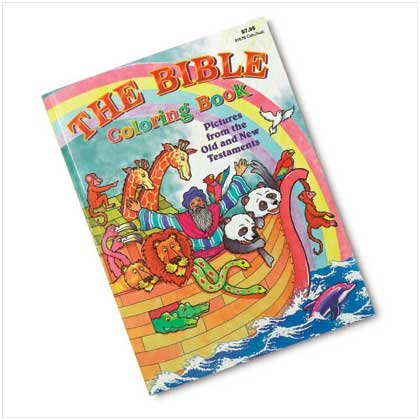 37809 Jumbo Bible Coloring Book