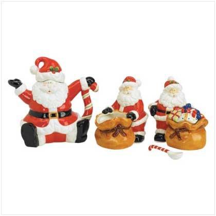 35575 Santa Tea Service Set