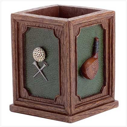 31568 Golf Club and Ball Pen Holder