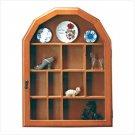 21923 Wood Shelf-Glass Door