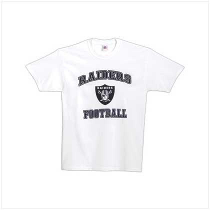 38133 NFL Oakland Raiders Tee Shirt-LG