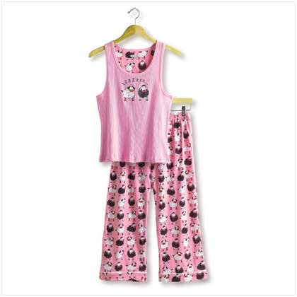 38113 Counting Sheep Tank PJ Set - Extra Large