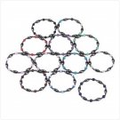 34369 1-Dozen Hematite Magnetic Bracelets (Retail - 7.95ea)