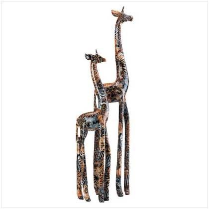 30218 Patchwork Standing Giraffes - Safari