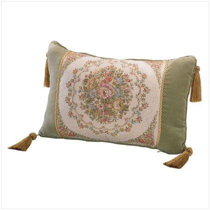 35511 Velvet Floral Cushion