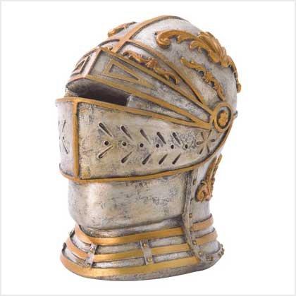 38194 Warrior Head Money Bank