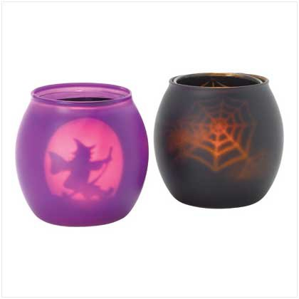 38244 Halloween Votive Holders