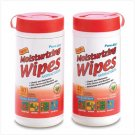 38408 Anti-bacterial Wipes - Pure-Aid
