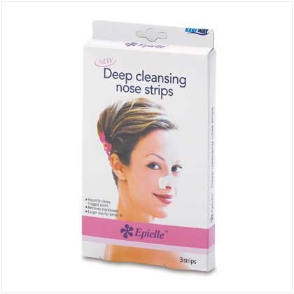 38405 Deep Cleansing Nose Strips - 3 pack