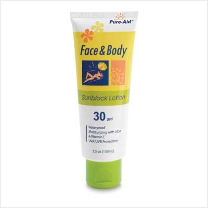 38394 Face and Body Sunblock - Pure-Aid
