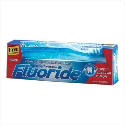 38393 Fluoride Toothpaste - 6.4 oz.