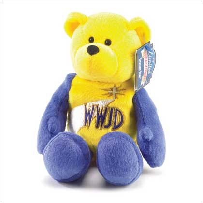 38392 Treasure Bear - What Would Jesus Do