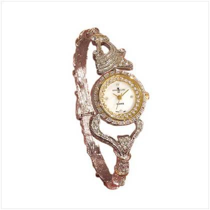 22965 Ladys Antique Bangle Quartz Watch