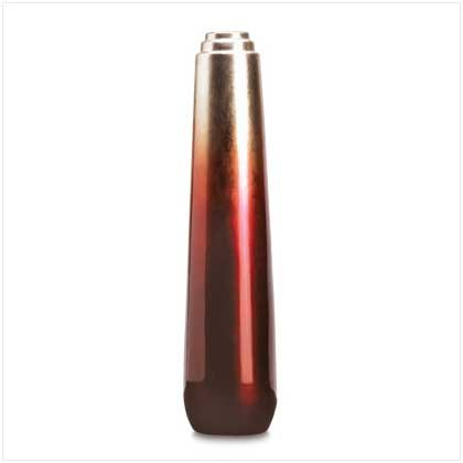 38386 Ruby Gold Vase