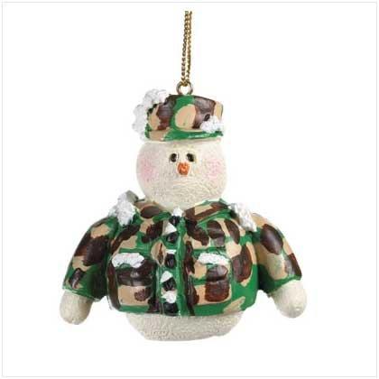 37224 Snowberry Cuties Marines Ornament