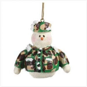 37224 Snowberry Cuties Marines Ornament