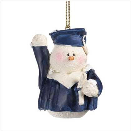 37219 Snowberry Cuties Graduate Ornament