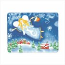 37679 Christmas Angel Fleece Blanket