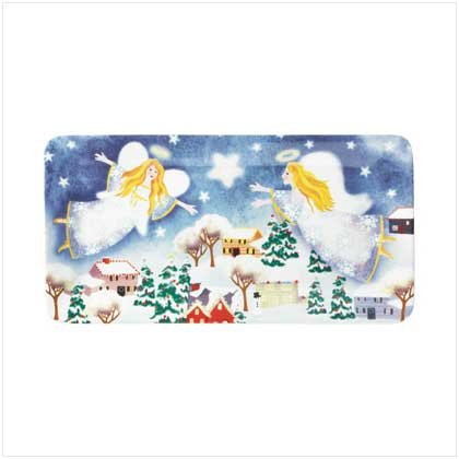 37705 Christmas Angel Serving Platter