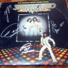 "BEE GEES   autographed  SIGNED  ""Fever""  record    *PROOF"