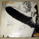"""LED ZEPPELIN   signed  AUTOGRAPHED  """" Zepp 1 """"   RECORD        *proof"""