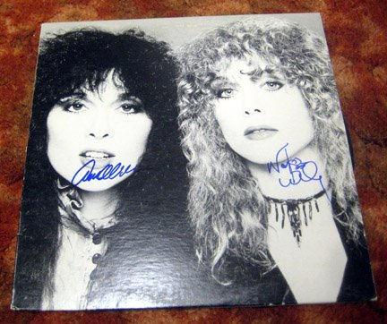 HEART    autographed    SIGNED  #1    RECORD            *Proof