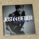 JUSTIN BIEBER   autographed  SIGNED  New  Cd Cover  !