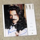 YANNI   autographed  SIGNED  #1  Cd   !