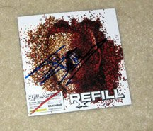 EMINEM  autographed   SIGNED  Refill  Cd Cover  !