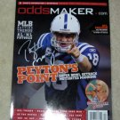 PEYTON MANNING  colts  AUTOGRAPHED   signed  MAGAZINE  !