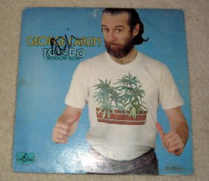 GEORGE CARLIN   autographed  SIGNED  #1  album  !