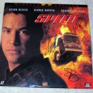 "KEANU REEVES    dennis hopper   SANDRA BULLOCK    autographed   SIGNED   "" Speed ""   LASER DISC !"