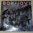 "BON JOVI   autographed    SIGNED      ""slippery when wet""      RECORD      *proof"