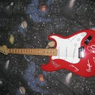 DURAN DURAN   signed  AUTOGRAPHED  new  GUITAR    *proof