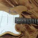 ROLLING STONES  autographed  SIGNED  Guitar  *PROOF