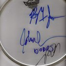 THE DOORS  autographed  SIGNED  new  DRUMHEAD  * proof