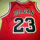 MICHAEL JORDAN  autographed  SIGNED  Authentic  BULLS JERSEY  * Proof