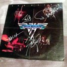 VAN HALEN  autographed  SIGNED #1  RECORD  * w/ proof