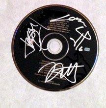 "METALLICA  signed  AUTOGRAPHED "" Black ""  Cd"