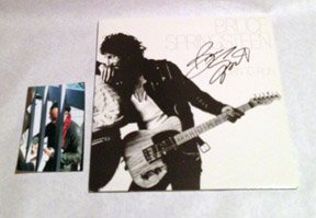 BRUCE SPRINGSTEEN  signed  AUTOGRAPHED  #1  RECORD
