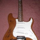 ROLLING STONES w/ bill wyman   Signed  AUTOGRAPHED  new  GUITAR