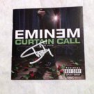"EMINEM  signed  AUTOGRAPHED  "" Curtain call ""   Cd COVER"