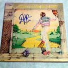 ELTON JOHN  signed  AUTOGRAPHED yellowbrick RECORD ALBUM