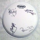 ROLLING STONES  signed  AUTOGRAPHED  new  DRUMHEAD  * proof