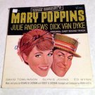 MARY POPPINS disneyland  AUTOGRAPHED  signed  RECORD album