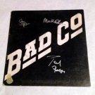 BAD COMPANY  signed  AUTOGRAPHE  #1  RECORD album