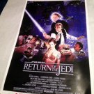 RETURN of THE JEDI  signed  AUTOGRAPHED  full size POSTER